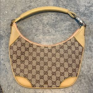 Gucci half moon bag